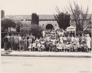 Berkeley Methodist United Church Easter 1953