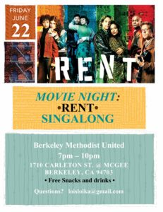 Rent Singalong Community Movie Night